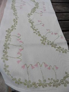 100-cotton-square-Swedish-tablecloth-with-pink-linnea-flower-design-by-Ekelund