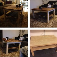 relooking table lack