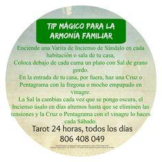 ~ Tarot y Rituales con Margui Centeno - Magia Blanca: Consejo Mágico para la armonía familiar.