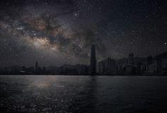 Город в свете звезд