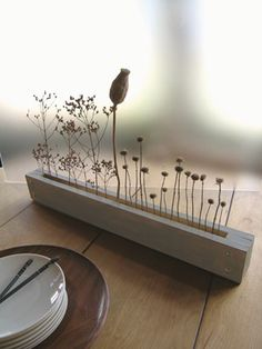 house flower decoration 248823948137032279 - Build a graceful fall centerpiece that won't hide one guest from another using spare wood and autumn vegetation.data-pin-do= Source by gedane Concrete Crafts, Concrete Art, Concrete Projects, Wood Crafts, Diy Projects, Recycled Crafts, Concrete Design, Diy Wood, Simple Centerpieces