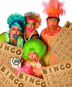 Relax with a Game of Drag Queen Bingo!