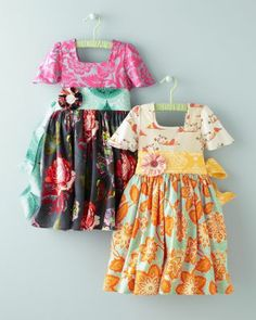 Party Dress by Moxie & Mabel - Baby Girls. Joel's prints again!