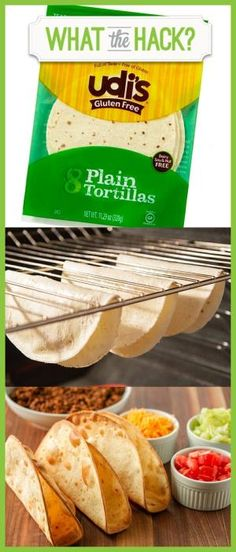 Make your own crispy #glutenfree taco shells with Udi's tortillas! #WhatTheHack by tanisha