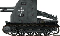 sIG 33 Bison based the on Ausf.B chassis, France, May 1940.