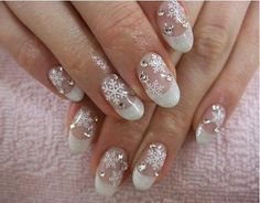 Winter Nail Colors 2014 For more Images visit http://naildesignsidea.net/winter-nail-designs/