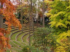 Scott Outdoor Amphitheater  designed by noted Philadelphia landscape architect, Thomas W. Sears
