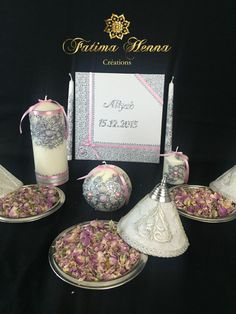 henna mariage kit naissance deco mariage bougie maroc artisanat ides caftans photos de mariage - Coffret Henn Mariage