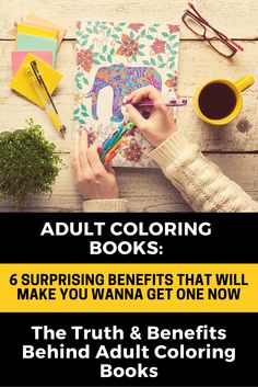 A fun low-tech activity that does not require batteries and gives relaxation and a #stressfree environment? Yes - that's what #AdultColoringBooks can give you.