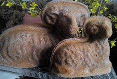 Lamb Cake, Easter Lamb, Garden Sculpture, Food And Drink, Sweet, Outdoor Decor, Home Decor, Birthday Cake, Gardening