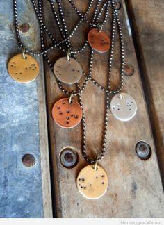 Zodiac Color Necklaces