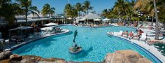We love us some Florida pool bars. Grab a cool drink at Dante's in Key West right off the beach.