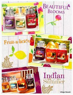 LANÇAMENTOS DE PERFUMES, VELAS E CREMES CORPORAIS - EM DESTAQUE - Yankee Candle new fragrances http://villagebeaute.blogspot.com.br/2014/04/lancamentos-de-perfumes-velas-e-cremes.html