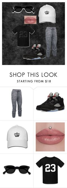"""""""Js on my feet"""" by chrisstrickland ❤ liked on Polyvore featuring Under Armour and NIKE"""