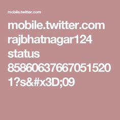 mobile.twitter.com rajbhatnagar124 status 858606376670515201?s=09