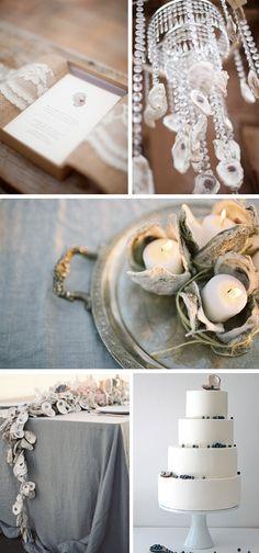 oyster wedding details