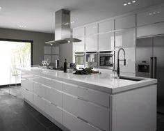 modern gloss kitchen cabinets