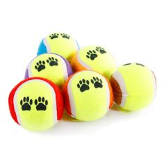 3PCS Dog Tennis Ball Long Lasting Throwing Toy Safe Measures 6 CM   Tag a friend who would love this!   FREE Shipping Worldwide   Buy one here---> https://gleepaw.com/veqsking-3pcslot-dog-toys-throwing-tennis-ball-pet-supplies-bite-resistant-6cm-chew-toy-training-balls-for-cat-puppy-dogs/
