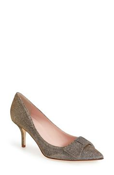 kate spade new york 'juliette' pointy toe pump (Women) available at #Nordstrom