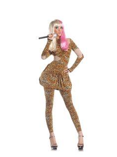 018cf9d09d4 Sexy Leopard Rap Superstar Costume Adult
