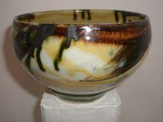 Earthenware bowl.