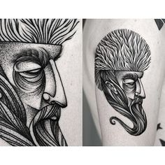 Kamil Czapiga | 27 Insanely Talented Tattoo Artists You Should Be Following On Instagram GOOD LINK!!