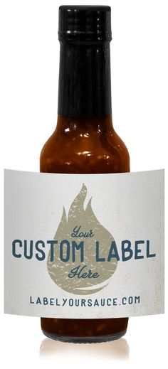 Custom Labeled Chipotle Crushed Pepper Sauce (12 Bottles)