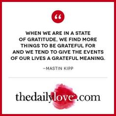 Visual Inspiration: Be Grateful!