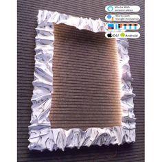 CORNICE design FERRO BATTUTO per Specchio o Foto con illuminazione Led SMART su 4 lati interni . cm 76 x 96 . compatibile con iOS e Android . funziona con Amazon Alexa, Google Home, Ifttt . WIFI luce lampada DOMOTICA INTELLIGENTE . 850 Ios, It Works, Android, Crochet Hats, Amazon, Google, Design, Knitting Hats, Amazons