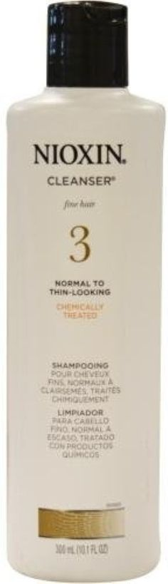 Nioxin -3 Cleanser, Normal To Thin-Looking, 10.1 oz (Pack of 4) ** You can find more details by visiting the image link.