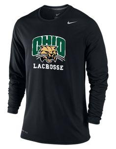 Ohio University Lacrosse Team Gear, Lacrosse, Ohio, University, Mens Tops, Black, Fashion, Moda, Columbus Ohio