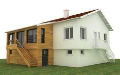 Agrandissement de maison en ossature bois par Votre courtier en