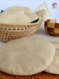 Pane arabo all'italiana - la ricetta