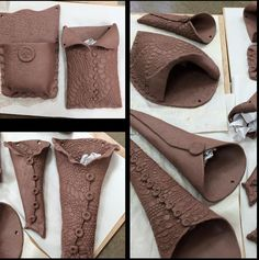 Clay Wall Pockets