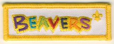 Beavers embroidered logo fun badge featuring the new 2015 section brand logo to be sewn or glued on to your blanket or poncho. Scout Badges, Beavers, Coin Purse, Patches, Wallet, Blanket, Scouting, Sewing, Logos