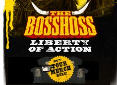 The Bosshoss........great music from Germany.
