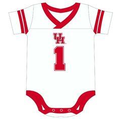 New Houston Cougars Logo Gear! V-Neck Infant Onesie $19.98