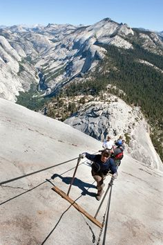 Can't wait to finally do this. Climb Half Dome, Yosemite National Park, CA.