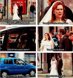 Lmfao! I absolutely love Donna. I wish she wouldn't have had to leave. And I wish rose and Donna could have traveled together.