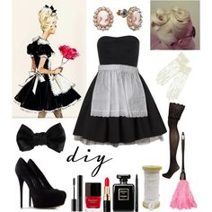 """"""" sexy French Maid Costume for Halloween"""""""
