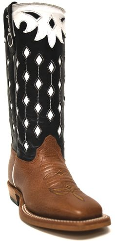 Kemo Sabe Rios of Mercedes Chocolate Hippo Men's Handmade Boots ...