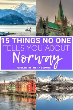 A Norway Travel Guide with Practical Norway Travel Tips - Girl With The Passport Looking for a Norway Travel Guide with Practical Norway Travel Tips that don't suck? Then check all the insanely common, Norway travel mistakes that you need to avoid. Packing List For Travel, Europe Travel Tips, European Travel, Travel Guides, Travel Destinations, Travel Hacks, Travel Gadgets, Travel Advice, Travel Essentials