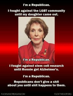 And I'm sure she wasn't saying Just Say No to her husband's prescription (taxed) meds either. Hypocrite. I wonder if she knew the benefits of cannabis and Alzheimer's....