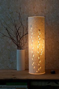 Tall Catkins Table Lamp di Hannahnunn su Etsy