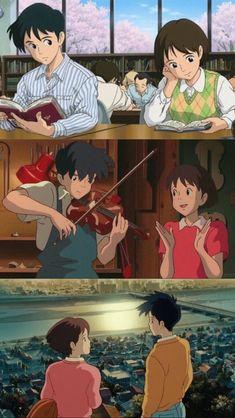 Studio Ghibli Movies, Favorite Cartoon Character, Hayao Miyazaki, Totoro, Whisper, Cute Wallpapers, Cartoon Characters, Anime Art, Animation