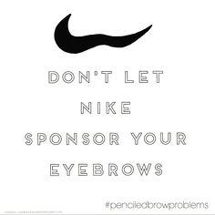 #eyeandbrowcompany #penciledbrowproblems #browhumor