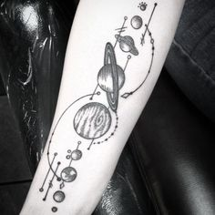 solar system tattoo18