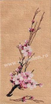 Cod produs: 7.77 Floare de cires Culori: 11 Dimensiune: 12 x 24 cm Pret: 35.71 lei