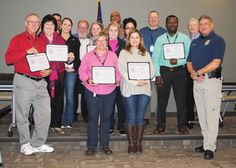 The latest graduating class of the Snellville Police Department's Citizens Police Academy