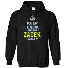 "[Top tshirt name meaning] KeepCalmNew Keep Calm And Let ZACEK Handle It  Shirts This Month  If you dont like this shirt no problem you can search another shirt at ""SEARCH BOX"" on the TOP  Tshirt Guys Lady Hodie  SHARE and Get Discount Today Order now before we SELL OUT  Camping calm and march on hoodie hoodies t shirts keep calm and let zacek handle it tshirt"